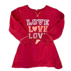 3/$25 Love at First Sight Toddler Girl Dress